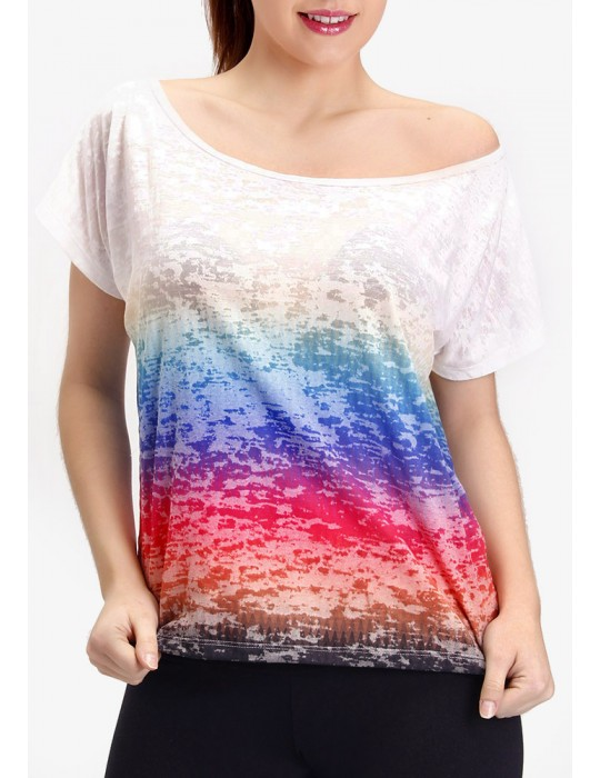 CAMISETA DEVORE MULTICOLOR 01232