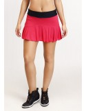 FALDA SHORT SHEER ROSA/NEGRO 18135