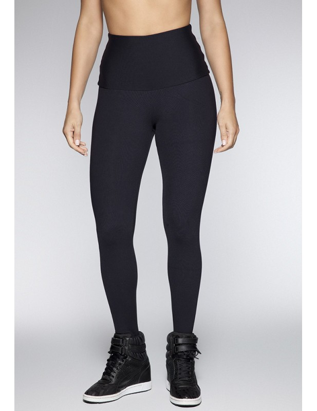 LEGGING CINTURA ALTA HILO SUPPLEX NEGRO 06105 PT