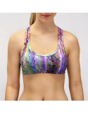 TOP DEPORTIVO CON HILO SUPPLEX ESTAMPADO 04115 DG105