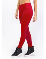 LEGGING DEPORTIVO CON HILO SUPPLEX ROJO 06304 VM01