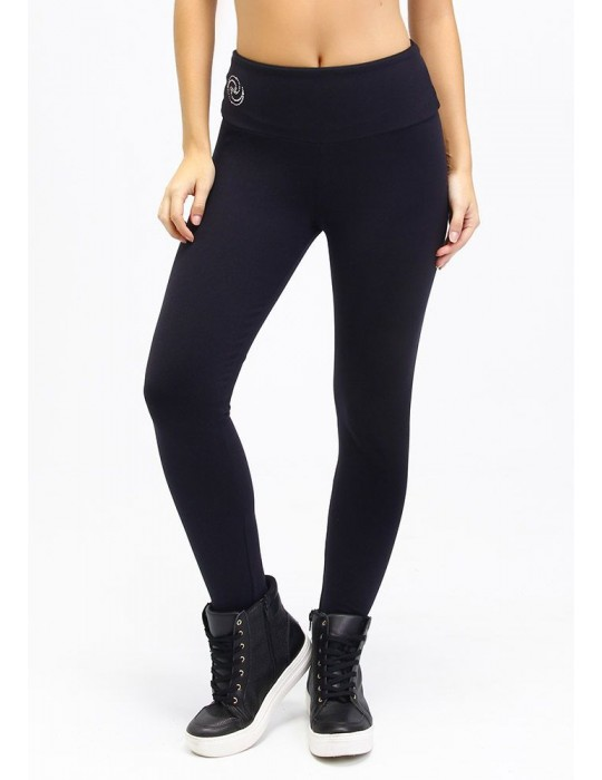 LEGGING DEPORTIVO CON HILO SUPPLEX NEGRO 06304 PT
