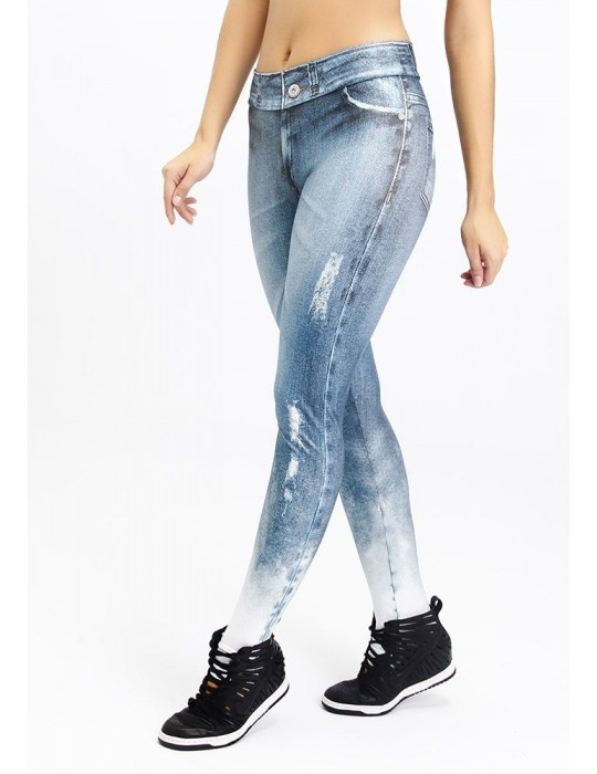 LEGGING FAKE JEANS SUBLIME 06260 SB238