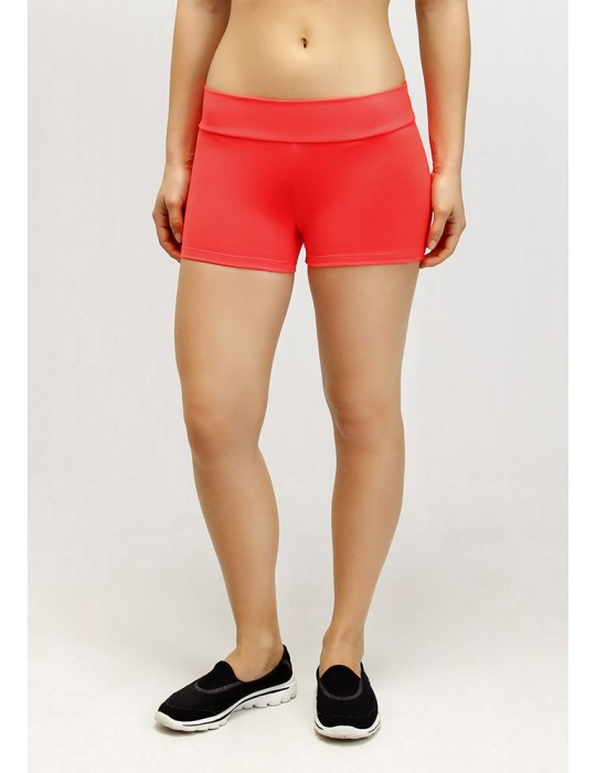 SHORT DEPORTIVO CON HILO SUPPLEX NARANJA 12106 LJ02
