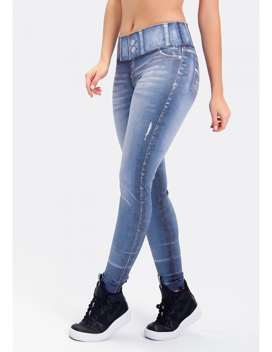 LEGGING JEANS REVERSIBLE SUBLIME 06271 SB291