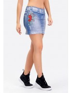 FALDA SHORT JEANS SUBLIME 18151 SB289
