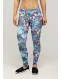 LEGGING HILO SUPPLEX ESTAMPADO DE FLORES 06125